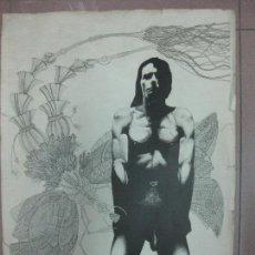 Arte: GRABADO DE EDUARD LLORENS 50/100. 25 - XII - 1978. 55X40 CM.. Lote 89562432