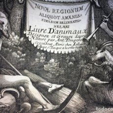 Arte: NOVAE REGIONUM ALIQUOT AMAENIS (...) ANTONIO TEMPESTA. ED. JOLLAIN. PARIS. 1690. Lote 90033624