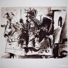 Kunst - PABLO PICASSO. GRABADO ORIGINAL FIRMADO A MANO COLECCION MARINA PICASSO. EDICION LIMITADA 500 EJEMPL - 133585013