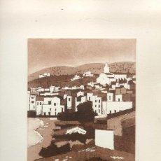 Arte: JOSEP MARIA VAYREDA CANADELL. ( OLOT EN 1932) GRABADO FIRMADO Y NUMERADO A LÁPIZ. Lote 90667455