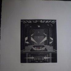 Arte: AMELIA RIERA. GRABADO. TIRAJE 72/100. Lote 91263280