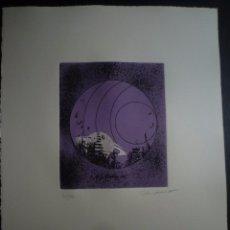 Arte: JAUME GENOVART. GRABADO. TIRAJE 40/100. Lote 91272220