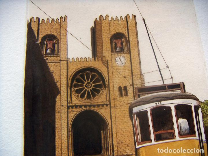 Arte: GRABADO FIRMADO M.CASTILLO - Foto 3 - 91664760