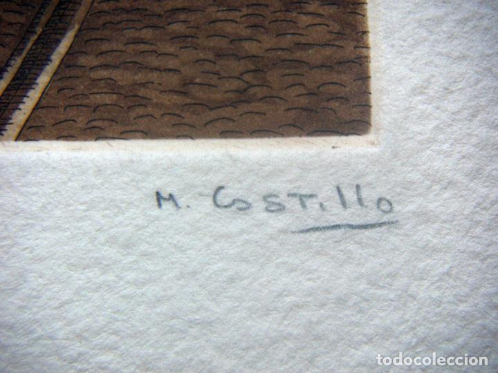 Arte: GRABADO FIRMADO M.CASTILLO - Foto 5 - 91664760