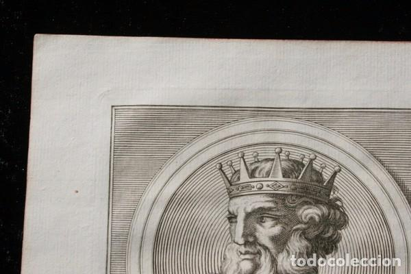 Arte: 1788 GRABADO - ALONSO II - REY DE LEON - 200x135mm - Foto 3 - 91790895