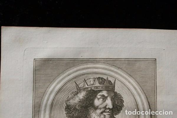 Arte: 1788 GRABADO - RAMIRO I - REY DE LEON - 200x135mm - Foto 2 - 91791510