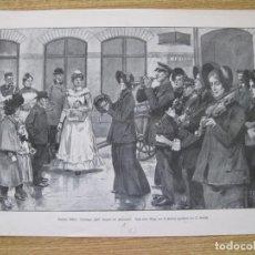 Arte: CONCIERTO CALLEJERO DEL EJÉRCITO DE SALVACIÓN, 1803. Lote 92303275