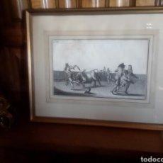 Arte: GRABADO ANTIGUO SIGLO XVIII . Lote 92362602