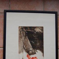 Arte: GRABADO DE JOAQUÍN CAPA (SANTANDER 1941), FIRMADO A LÁPIZ, 28/125, 69X53. Lote 92439490