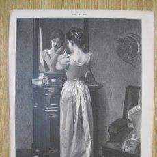 Arte: ANTE EL ESPEJO, 1903. Lote 92741640
