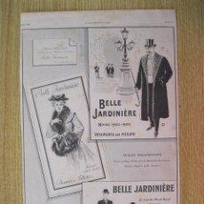 Arte: ANUNCIOS PUBLICITARIOS I, 1902. Lote 93044215