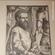 Arte: CARPETA COLECCIÓN INCOMPLETA DE GRABADOS ANDREAS VESALIUS. 4 LÁMINAS. Lote 94000345