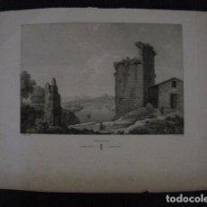 Arte: GRABADO MUY ANTIGUO AMPOSTA - MIDE 30 X 44 CM -VER FOTOS. Lote 94055250