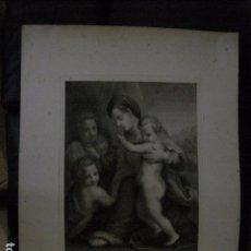 Arte: GRABADO MUY ANTIGUO - MIDE 44 X 62 CM -VER FOTOS. Lote 94059190