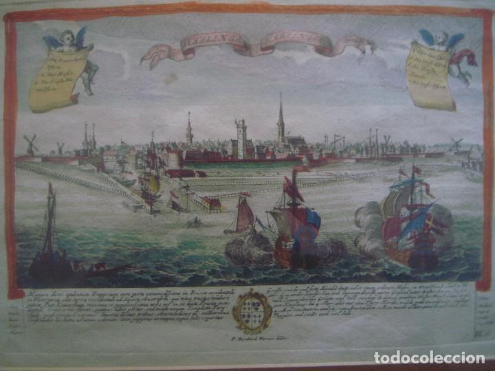 libreria ghotica. grabado del siglo xviii de gr - Comprar Grabados ...