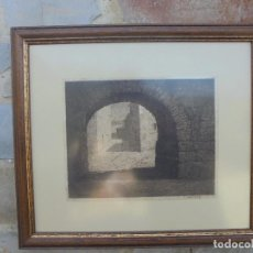 Arte: CASTRO GIL, MANUEL (LUGO,1891-MADRID,1961) PLUMILLA PINTADA EN EL, EXILIO EN EL AÑO 1938 . Lote 94855579