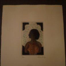 Arte: JOSEP GRAU GARRIGA. GRABADO. TIRAJE 90/100. Lote 95193171
