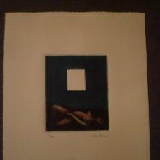 Arte: JOSEP GRAU GARRIGA. GRABADO. TIRAJE 52/100. Lote 95193523