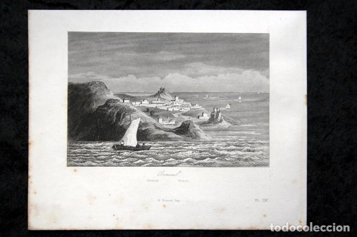 1863 - GRABADO - ORMUZ - 179X143MM (Arte - Grabados - Modernos siglo XIX)