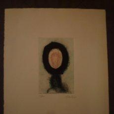 Arte: JOSEP GRAU GARRIGA. GRABADO AL CARBORUNDUN TIRAJE 54/100. Lote 95410663
