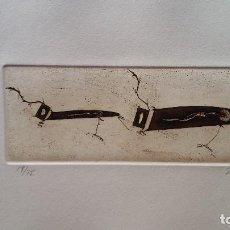 Arte: ZUSH EVRU ALBERT PORTA: TRUGOS IST, 1992, AGUAFUERTE FIRMADO Y NUMERADO. Lote 96100379
