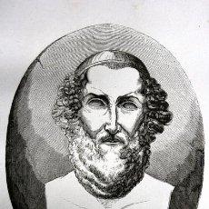 Arte: 1855 - GRABADO - SOFOCLES EL TRAGICO - 242X155MM. Lote 96265079