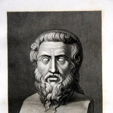 Arte: 1855 - GRABADO - PLATON - 243X149MM. Lote 96265971