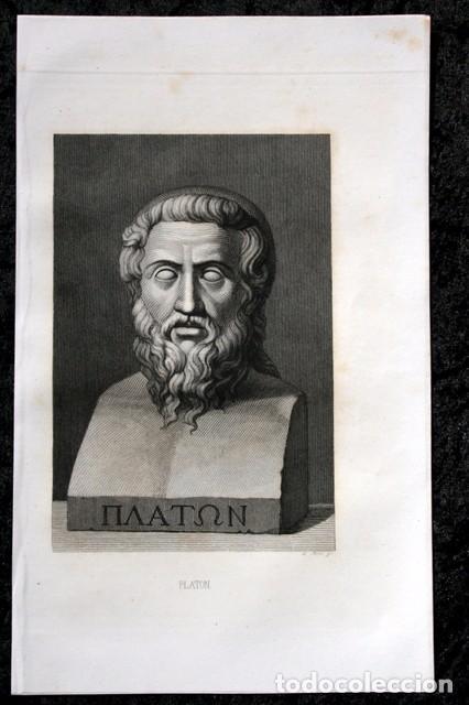 Arte: 1855 - GRABADO - PLATON - 243x149mm - Foto 2 - 96265971