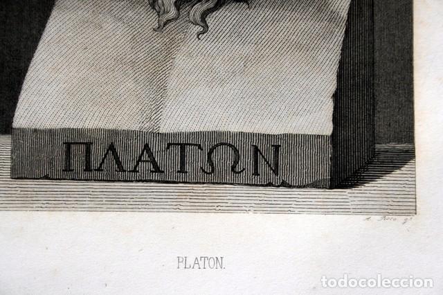 Arte: 1855 - GRABADO - PLATON - 243x149mm - Foto 3 - 96265971