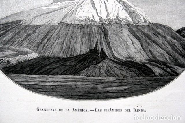 Arte: 1855 - GRABADO - PIRAMIDES DEL ILINIZA - 242x151mm - ECUADOR - Foto 2 - 96296547