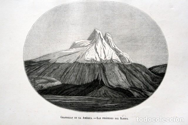 Arte: 1855 - GRABADO - PIRAMIDES DEL ILINIZA - 242x151mm - ECUADOR - Foto 3 - 96296547