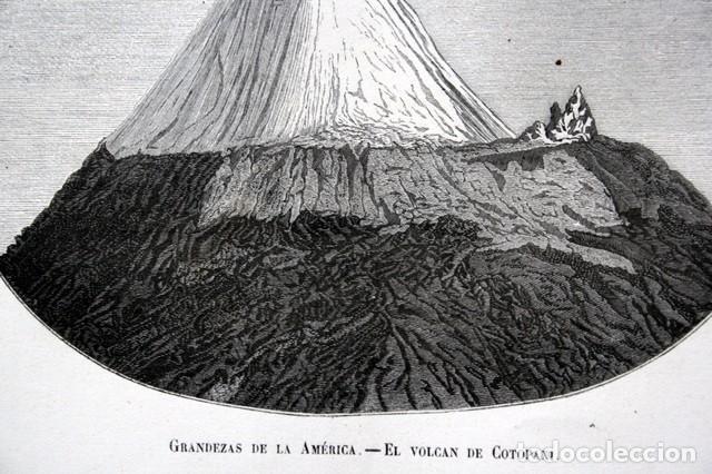 Arte: 1855 - GRABADO - VOLCAN DE COTOPAXI - 242x151mm - ECUADOR - Foto 2 - 96297447