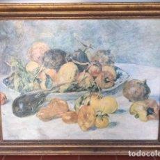 Arte: BONITO ANTIGUO BODEGON CON BONITO MARCO. Lote 96308435