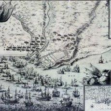 Arte: PLAN DE LA VILLE ET MOLLE DE TARRAGONE(...). GRABADO. BEAULIEU. PARIS. SIGLO XIX (?). Lote 96587447
