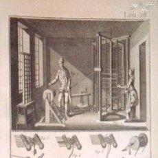 Arte: GRABADOS ANTIGUOS FABRICACIÓN SEDA AÑO 1794 COLECCIÓN COMPLETA DE 12 DISTINTOS CON CERTIF. AUTENT.. Lote 96956639