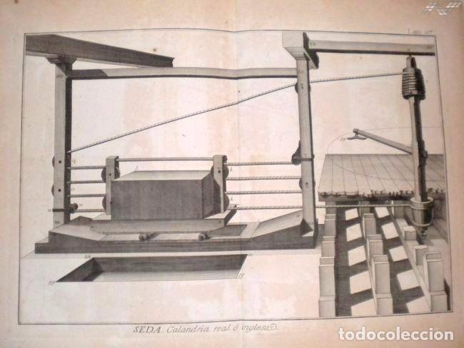 Arte: Grabados antiguos industria de Seda año 1794 colección completa de 12 distintos con certif. autent. - Foto 13 - 96956639