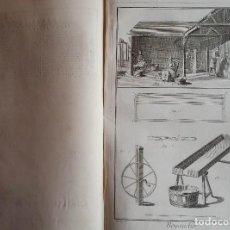Arte: GRABADO ORIGINAL DE LA ENCICLOPEDIA DE DIDEROT: BOYAUDIER, EMBUTIDOR, 1770. Lote 96984135