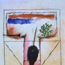 Arte: FREDERIC AMAT. GRABADO 70X50 FIRMADO/NUMERADO. Lote 100742168