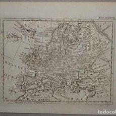 Arte: MAPA DE EUROPA, CIRCA 1780. A. BELL. Lote 98134099