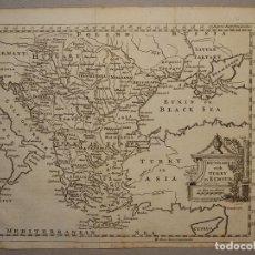 Arte: MAPA DE HUNGRÍA, TURQUÍA Y GRECIA, CIRCA 1780. THOMAS JEFFERYS. Lote 98134335
