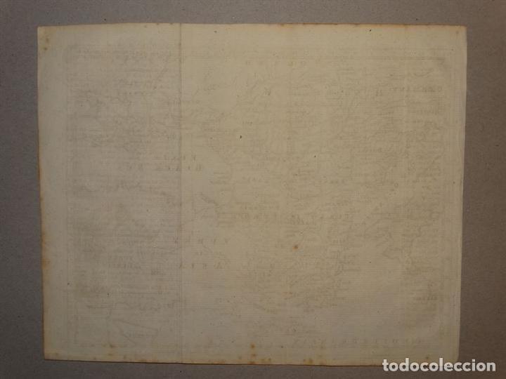 Arte: Mapa de Hungría, Turquía y Grecia, circa 1780. Thomas Jefferys - Foto 12 - 98134335