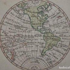 Arte: MAPA DE AMÉRICA, CIRCA 1820. ANÓNIMO. Lote 98135767
