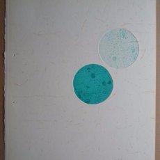 Mitsuo Miura (Iwate, Japón, 1946) grabado 1992 de 31x27,5 en papel de 31x28 firmado lápiz y /174/175