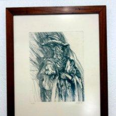 Arte: JUAN ANTONIO VILLAFUERTE ESTRADA. GRABADO. 1977. UNDERGROUND. EL ROLLO.. Lote 98497059