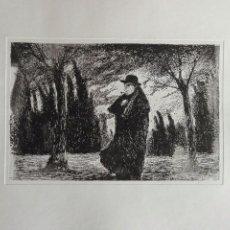 Arte: GRABADO AL AGUAFUERTE DEL GRAN ARTISTA VASCO RICARDO BAROJA. Lote 98575503