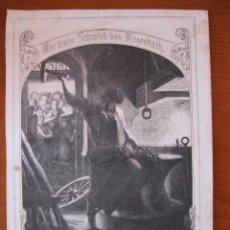 Arte: EL HERRERO EN SU TALLER, 1858.. Lote 98791487