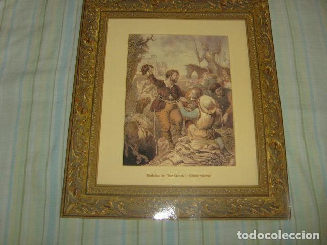GRABADOS DE DON QUIJOTE ED. FACSIMIL (Arte - Grabados - Contemporáneos siglo XX)