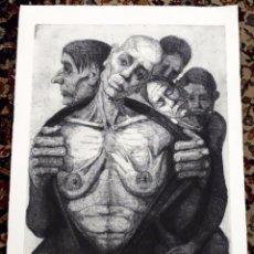 Arte: ESCUELA ESPAÑOLA (2ª MITAD DEL SIGLO XX) GRABADO DE AUTOR ANONIMO. Lote 98981231