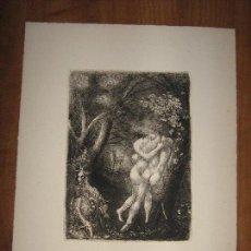Arte: GRABADO ORIGINAL MITOLOGIA - SIGLO XIX. Lote 99201255