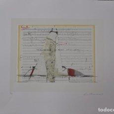 Arte: LUCIO MUÑOZ - SERIGRAFIA GOFRADO - FIRMADO Y NUMERADO. Lote 99424447